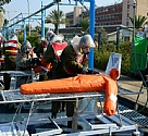 A large-scale chemical warfare attack simulation drill was held at Barzilai Medical Center